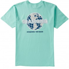 Diamond Supply Co. World Wide T-Shirt - Diamond Blue
