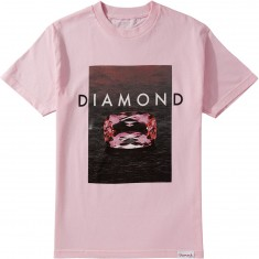Diamond Supply Co. Pink Spectrum T-Shirt - Pink