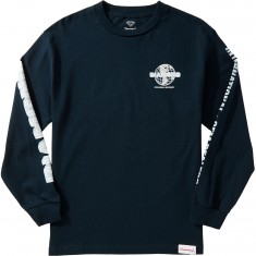 Diamond Supply Co. Worldwide Longsleeve T-Shirt - Navy