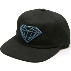Diamond Supply Co. Brilliant Unconstructed Snapback Hat - Black