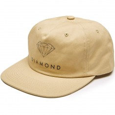 Diamond Supply Co. Futura Sign Unconstructed Snapback Hat - Khaki