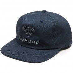 Diamond Supply Co. Futura Sign Unconstructed Snapback Hat - Navy