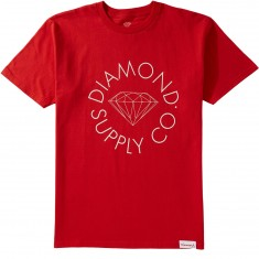 Diamond Supply Co. Circle Logo T-Shirt - Red