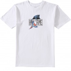 Hall Of Fame Amazon Logo T-Shirt - White