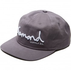 Diamond Supply Co. Og Script Deconstructed Snapback Hat - Purple