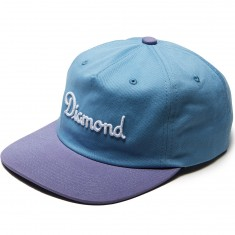 Diamond Supply Co. Champagne Strapback Hat - Blue