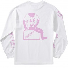 Hall Of Fame Poser Longsleeve T-Shirt - White