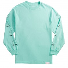Diamond Supply Co. OG Sign Longsleeve T-Shirt - Diamond Blue