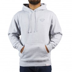 Diamond Supply Co. Brilliant Hoodie - Heather Grey