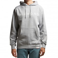 Diamond Supply Co. Futura Hoodie - Heather Grey
