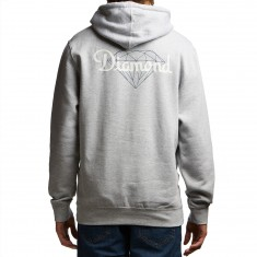 Diamond Supply Co. Champagne Cut Hoodie - Heather Grey