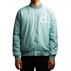 Diamond Supply Co. Un Polo Varsity Jacket - Teal