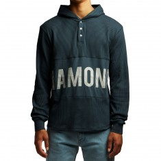 Diamond Supply Co. Winston Thermal Hoodie - Navy