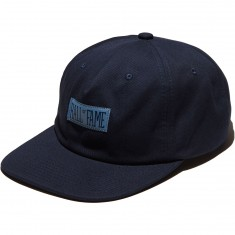 Hall Of Fame Lower C Buckleback Hat - Navy
