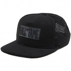 Hall Of Fame PF Perf Snapback Hat - Black
