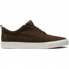 Diamond Supply Co. Lafayette Shoes - Brown Denim Suede