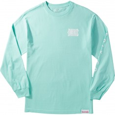 Diamond Supply Co. Warp Longsleeve T-Shirt - Diamond Blue