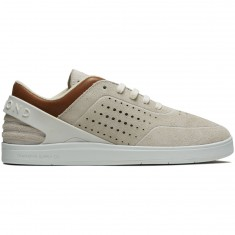 Diamond Supply Co. Graphite Shoes - White Suede