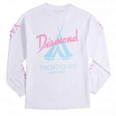 Diamond Supply Co. Voyage Long Sleeve T-Shirt - White