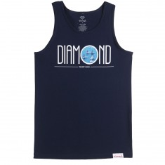 Diamond Supply Co. Deco Yacht Club Tank Top - Navy