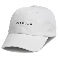 Diamond Supply Co. Marquise Sports Hat Sp18 Hat - White