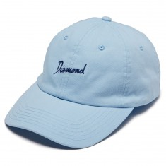 Diamond Supply Co. Gulf Script Sports Hat - Powder Blue