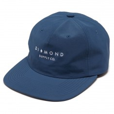 Diamond Supply Co. Marquise Cut Clipback Hat - Slate