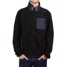 Diamond Supply Co. Marquise Fleeze Zip Up Jacket - Black