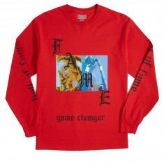 Hall Of Fame Renaissance Long Sleeve T-Shirt - Red