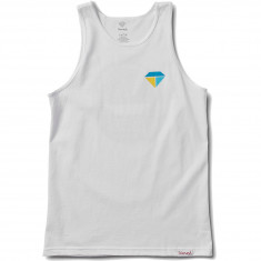 Diamond Supply Co. Bolts And Boats Tank Top - White