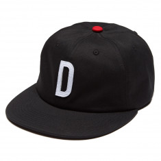 Diamond Supply Co. Home Team D Unstructured 6 Panel Strapback Hat - Black