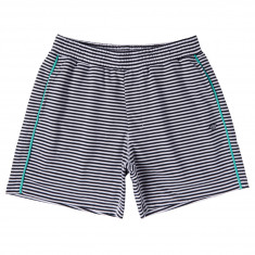 Diamond Supply Co. Cast Away Sweat Shorts - White/Navy