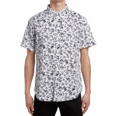 The Quiet Life Ziggity Short Sleeve Shirt - Black/White