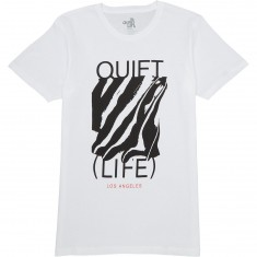 Quiet Life Smear T-Shirt - White