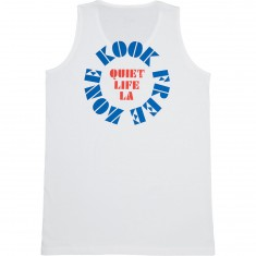 Quiet Life Zone Tank Top - White