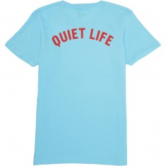 Quiet Life Shhh T-Shirt - Pacific Blue