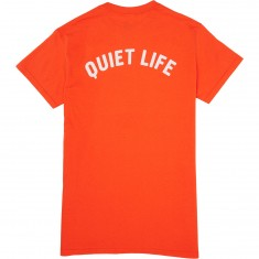 Quiet Life Shhh T-Shirt - Orange