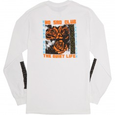 Quiet Life No Sad Club Longsleeve T-Shirt - White