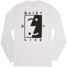 Quiet Life Finder Longsleeve T-Shirt - White