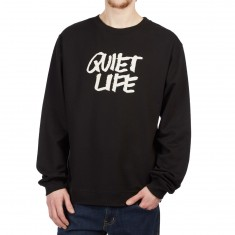 Quiet Life Jarvis Crewneck Sweatshirt - Black