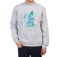 Quiet Life Bring Me Down Sweatshirt - Heather Grey