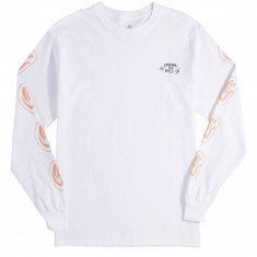 Quiet Life Drunk As Hell Long Sleeve T-Shirt - White
