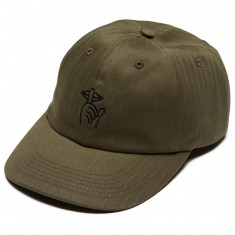 Quiet Life Shhh Polo Hat - Olive