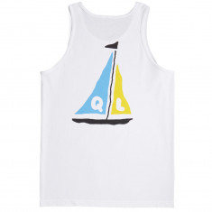 Quiet Life Sail Tank Top - White