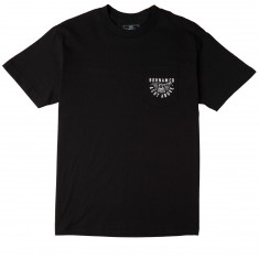 Bohnam Cut Above Pocket T-Shirt - Black