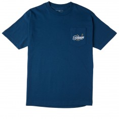 Bohnam Gone Fishin Pocket T-Shirt - Harbor Blue