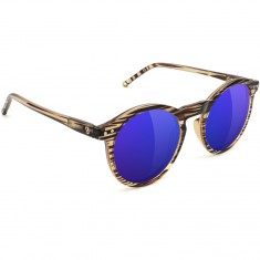 Glassy TimTim Polarized Sunglasses - Honey/Blue Mirror