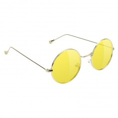 Glassy Mayfair Sunglasses - Gold/Yellow Lens