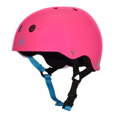 Triple Eight Sweatsaver Helmet - Neon Fuschia
