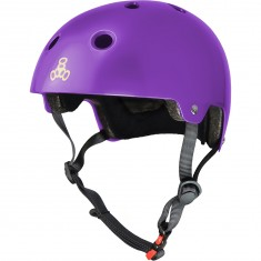 Triple Eight Dual Certified EPS Helmet - Purple Gloss
